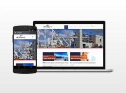 Vista web y App Corporativas de Anerpro