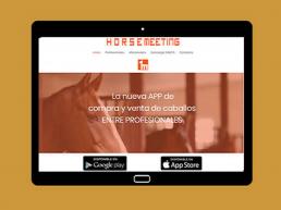 Horse Meeting - App Móvil