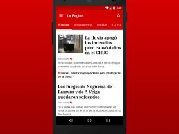 App ios y Android de La Región