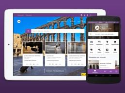 Páginas Autonómicas en Formato Web y App Android
