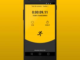 App que guía en el entrenamiento físico